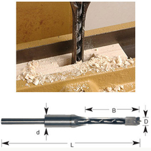 New 6.35MM HSS woodworking square hole drill bits  Mortising Chisel