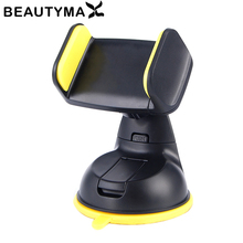360 Rotatable Car Phone Holder Windshield Dashboard Cell Phone Holder GPS Stand Mount Display Extendable Car Holder Universal