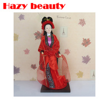 Twelve Women Silk Dolls resin statuette Creative Decorations China Dolls Handicrafts Beijing Silk Dolls Home Decorations renquan(China)