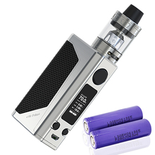 Joyetech eVic Primo 2.0 OLED Starter Kit with 228W Atomizers 4ml Tank ProC1 0.4 ohm Coil Head - Silver(China)
