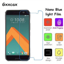Nano Eye-Protective anti Blue light Soft Glass Screen Protector Film for HTC 10 HTC One M10 HTC One 2 Perfume HTC M1