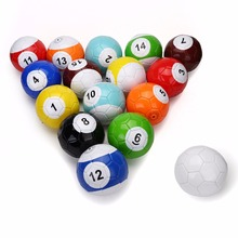 5# 16 Pcs Gaint Snooker Snook Ball Soccer 8.5 Inch In Snookball Game Huge Billiards Pool Football Include Air Pump Toy Poolball