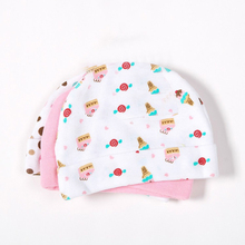 3pcs/lot Hot sale Mother Nest Baby Caps for Boys Girls, Newborn Boy Hats 3-Pack Infant Caps,0-3 months(China)