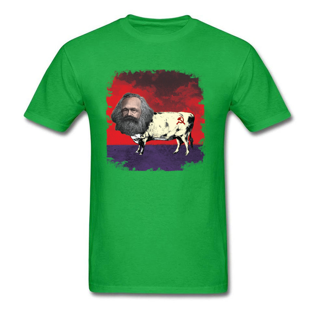 COW MARX - FATHER OF COWMUNISM_green