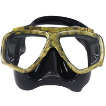 Camouflage Scuba Dive Mask Myopic Optical Lens Snorkeling Gear Spearfishing Swim Goggles Diving Gears