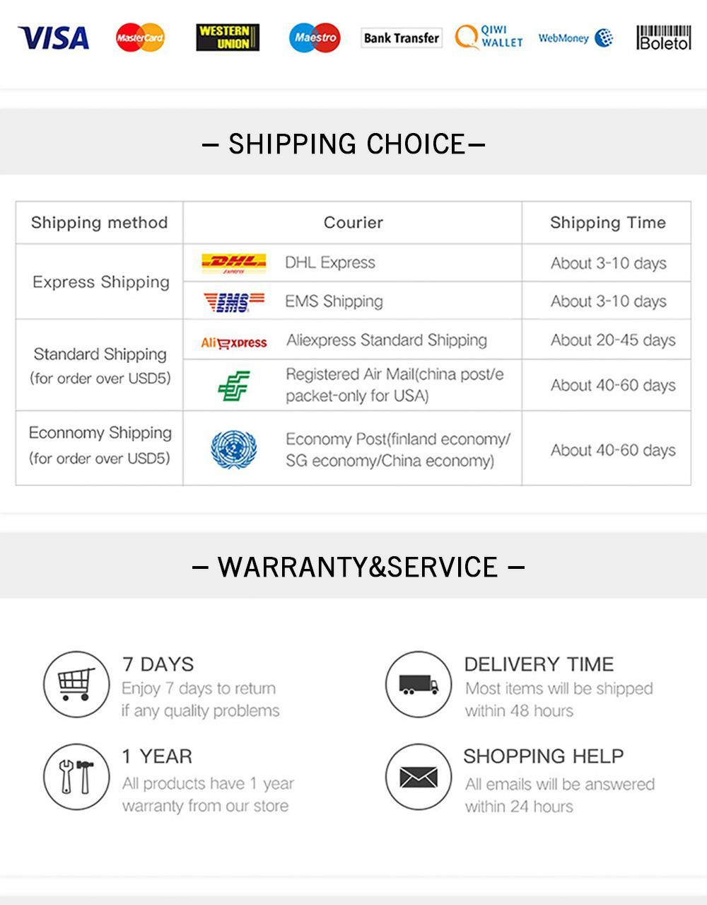 shipping choice_