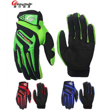 2017 Summer New Riding Tribe off-road motorcycle gloves full finger can touch motorbike riding glove popular brands 3 colors(China)