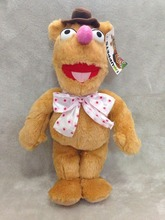The Muppets Exclusive 35cm DELUXE Plush Figure Fozzie Plush Toys(China)