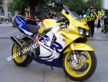Hot Sales,For Honda CBR 900RR 919 98 99 Parts CBR900 CBR 900 RR 1998-1999 CBR919RR Yellow Blue White Motorcycle Fairing Kit