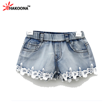 Kids Clothes Clearance  Girl's Shorts Children Short Lace Jeans Summer Cute   Princess  5T