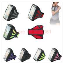 Universal sport running unisex fitness bodybuilding arm band mobile phone bag for Samsung S3 S4 S5 Workout Running Phone holder