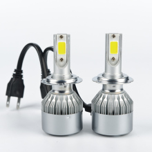 car headlight H7 LED H8/H9/H11 HB3/9005 HB4/9006 9007 H4 h3 H1 880 bulb auto front fog drl bulb automobile headlamp