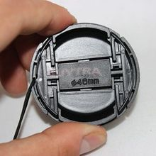New 46mm Center Pinch Snap on Front Cap Cover For Camera Lens Filter