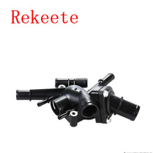 1pcs Auto cooling system thermostat for RENAULT LAGUNA MK1 ESPACE MK3 MEGANE MK1 1.8 2.0 THERMOSTAT HOUSING 7700116078