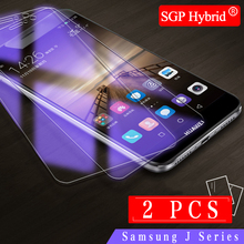 2PCS Tempered Glass For Samsung Galaxy j1 J2 J3 J5 J7 2015 / 2016 / 2017 Screen Protector for j3 j5 j7 Pro Protective Film Case