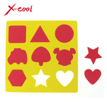 EVA Stamp for water magic mat / board / paint learning book / Stamp for doodle mat / EVA Stamp toys for kids