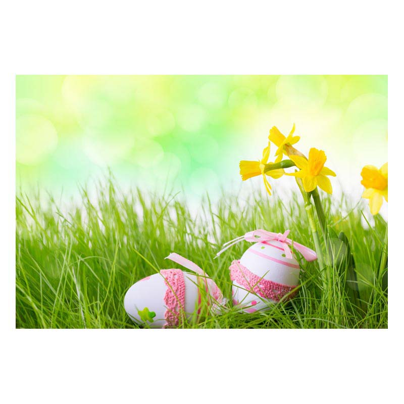 Easter Day Vinyl Photography Backdrops Newborns Customized Computer Printed Background Easter Eggs Free shipping 7X5ft  GE-188<br><br>Aliexpress