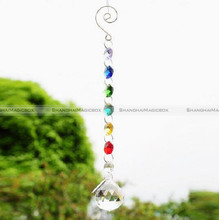Crystal Hanging Pendant Rainbow Suncatcher Hanging Light Window Pendant Decor 48817514
