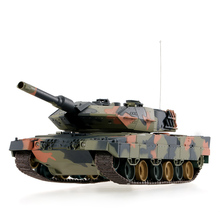 3809 1/24 German Leopard2th A5 Airsoft Battle Panzer RC Tank with Programming Function Model Vehicle Toys