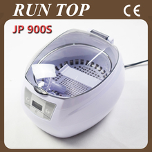 750ml Mini Glasses Watch Jewelry CD Digital Ultrasonic Cleaner Bath JP-900s with free Basket and Watch Stand(China)
