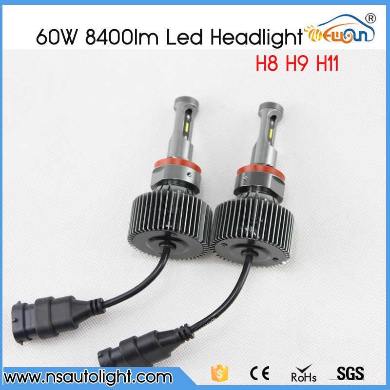 P7 2X Plug &amp; Play H8 H9 H11 LED 60W 8400LM 6000K XENON WHITE BULB REPLACEMENT DRL DAYTIME DRIVING FOG HEADLIGHT<br><br>Aliexpress