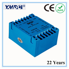 PU3013B 22 Years' manufacturer Double input and output 8VA 2*110V 2*7.5V PCB encapsulated transformer