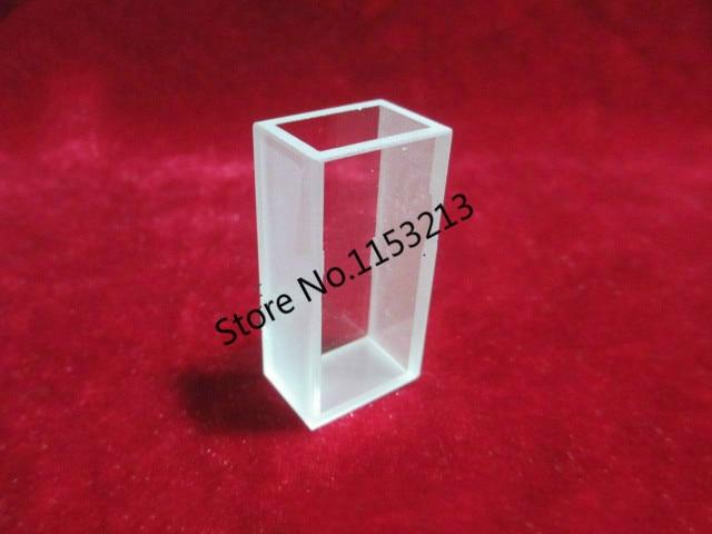 2pcs/lot 10mm 5.6ml Measuring reflected light cuvette,quartz Lovibond cuvette (liquid sample cell) Absorption cell<br>