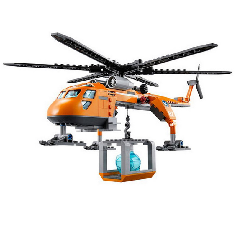 10439-BELA-City-Polar-Adventure-Arctic-Helicrane-Helicopter-Model-Building-Blocks-DIY-Figure-Toys-For-Children (1)
