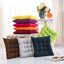 Home Office Decor Comfortable Cotton Seat Cushion Winter Office Bar Chair Back Seat Cushions Sofa Pillow Buttocks Chair Cushion(China)