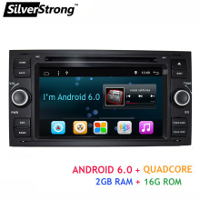 Free shipping Quad Core Android 6.0 Car DVD for Ford Focus1 dvd Galaxy Transit Connect 2 din 7 inch anroid car radio focus1