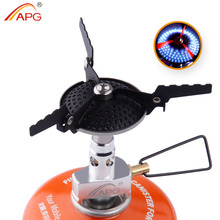 APG Portable Folding Mini Camping Stove Outdoor cookware 70g 2300W Pocket Picnic Cooking Gas Burners