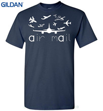 GILDAN Tee Shirt Hipster Harajuku Brand Clothing T-shirt Air Mail Short-sleeve T Shirt