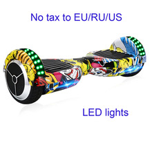Hoverboard 2 Wheel Smart Self Balancing Scooter Electric Hover board Skateboard Motorized Adult Roller Hover  Drift Skateboard