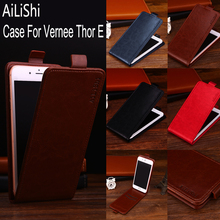 AiLiShi Factory Direct! Top Quality Case For Vernee Thor E Leather Case Flip Cover Bag 100% Special Phone Accessories + Tracking