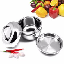 East Apple Shaped Portable Lunch Box Stainless Steel Food Container Thermal Bento Lunch food Box Container