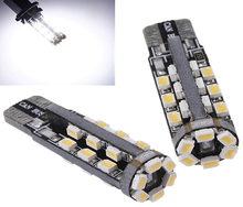 Canbus Error Free T10 W5W 194 168 30 LED 3020 SMD DC12V Car Auto Wedge Side Tail Parking Lights Lamp Bulb White(China)