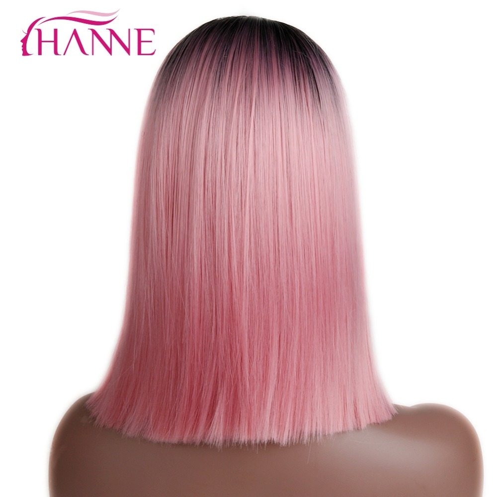 synthetic straight wig07