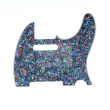 Abalone Pearl 4Ply PVC Electric Guitar Pickguard For Fender Standard Tele Telecaster TL