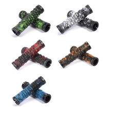 Super Cool Anti-bacteria Mountain Bike Handle Grip for Mountain Bicycle Skull Design Specialized Mountain Bike Handlebar Grips(China)