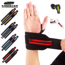 Queshark 2Pcs Hand Wraps Wrist Strap Weight Lifting Wrist Wraps Crossfit Powerlifting Bodybuilding Breathable Wrist Support
