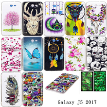 Night Light Case for Samsung Galaxy J5 2017 Case Cover Silicone Back Cover for Samsung J5 2017 Phone Coque Capinha