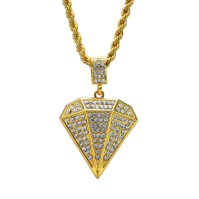 2017 New Fashion Jewelry Men Iced out Hip hop necklace pendant N541B