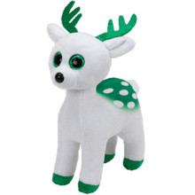"6"" 15cm Beanie Babies Peppermint the Christmas Reindeer Plush Stuffed Animal Collectible Soft Big Eyes Doll Toy Gifts S79(China)"
