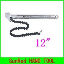 "BESTIR taiwan made excellent quality tool steel oil filter 12"" chain type wrenches car working tools NO.07413(China)"