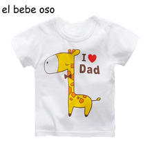 Summer 2017 New Cotton Baby Boys Girl Fashion T Shirt Cartoon Short Sleeve O-Neck Casual Children Clothes Kids Tees & Tops XL145