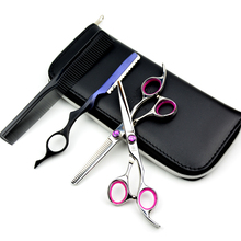 6 INCH Japanese Steel Professional Hairdresser Scissors Cutting scissors and Thinning Shear with box  like VG10 haircut styling