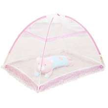 Buy Tent Children Baby Infants Mosquito Polyester Mesh Crib Netting New Born Cribs Folding Mosquito Net Cushion Mattress T0142 for $11.01 in AliExpress store