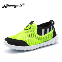 Buy DJSUNNYMIX 2018 Children Shoes Girls Boys Sport Shoes Antislip Soft Bottom Kids Baby Sneaker Casual Flat Sneakers Mesh Loafers for $12.00 in AliExpress store