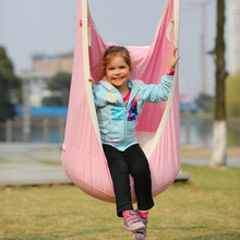 Garden Swing For Children Baby Inflatable Hammock Hanging Swing Chair Kids Indoor Outdoor Pod Swing Seat Sets SW136(China)
