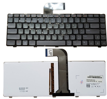 SSEA New US Keyboard backlight for Dell Inspiron N4110 N4040 N4050 M4040 M4050 M411R 5520 XPS L502X laptop keyboard English